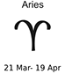 January 2014  Horoscope -- Aries